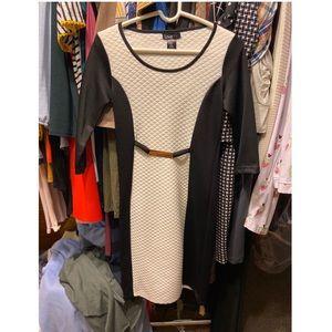 Dresses & Skirts - Fancy Black & White Dress
